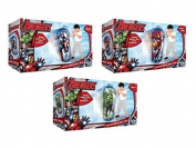 Marvel Avengers Bop Bag Inflatable Wobbly Bop Bag 80cm x 30cm Assorted Designs