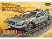 Polar Lights 1:25 Scale Back to the Future III Final Act Time Machine Snap Kit