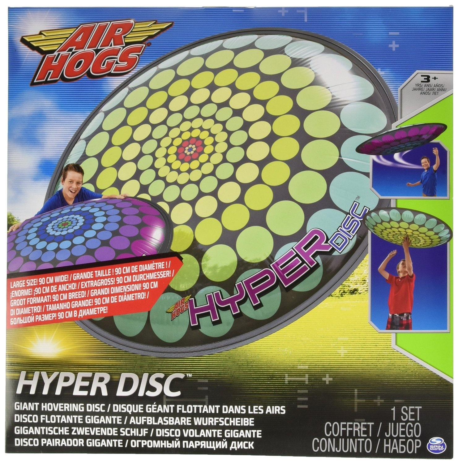 Spinmaster 6024920 Hyper Inflatable Air Hogs Flying Disc, Assorted  Decorations Ufo, Spiral, Points By Spin Master   Shop Online For Toys In  New Zealand
