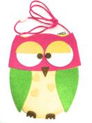 Owl Purse/Handbag with Long Cord