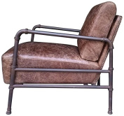 Mod Home Collection Liverstone Club Chair, Light Brown