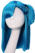 Bulma Wig Dragon Ball Z Cosplay Pre-styled Wig Hair Accessories Coslive