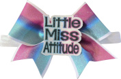 SBC Little Miss Attitude Bow Little Satin Headband Bow
