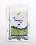 Treasured Locks Grey Away Enhanced Henna- Brown