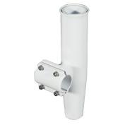 Lee's Clamp-On Rod Holder - White Aluminium - Horizontal Mount - Fits 2.7cm O.D. Pipe