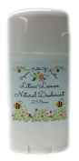 Organic & Natural Deodorant That Naturally Detoxes - Litsea~Lemon Scent - W/Organic Non-GMO Ingredients - For Women - Men - Kids - NO