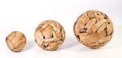 Bare Decor Medium Accent Ball in Solid Reclaimed Driftwood