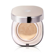 Ohui Miracle Moisture Chiffon Cushion #02 Cool Honey Beige Plus Two Refills Total 15ml/15g x 3
