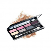 AMarkUp Pro 8 Colours Shimmer Eye Shadow Makeup Palette with Eyeshadow Cosmetic Brush Mirror