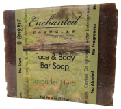 Face & Body Bar Soap with Lavender Herb