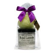 B. Witching Bath Co. Lavender Sugar Scrub and Brush Gift Set