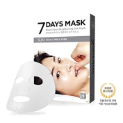 FORENCOS 7 Days Mask SUNDAY Black Pearl Brightening Silk Mask 10pcs Song Joong Ki Mask Korea