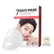 FORENCOS 7 Days Mask TUESDAY Volcanic Ash Detox Silk Mask 10pcs Song Joong Ki Mask Korea