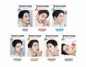 Forencos 7 Days Mask Pack 1Set(7pcs) Song Joong Ki Mask 태양의 후예 송중기 25ml*7