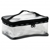 Basics® PVC Clear Train Case