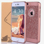 iPhone 6 Case,Inspirationc Luxury Hybrid PC Hard Shiny Bling Glitter Sparkle with Crystal Rhinestone Cover Case for iPhone 6S/6 12cm --Rose Gold