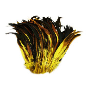 Everyshine 240 Pcs Dyed Nature Rooster Coque Tails Feather 25cm - 30cm