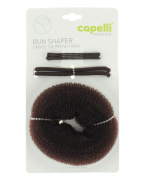 Capelli New York Bun Shaper Set Brown No Sz