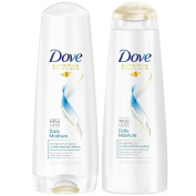 Dove Daily Moisture Shampoo and Conditioner 350ml Combo SET **Package May Vary**