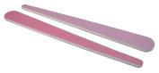 Rose 180/Lavender 320 Mylar - Teardrop Nail File 12 Pack