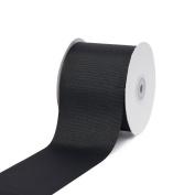 Creative Ideas 7.6cm Solid Grosgrain Ribbon, 25 yd, Black