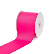 Creative Ideas 7.6cm Solid Grosgrain Ribbon, 25 yd, Hot Pink