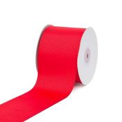 Creative Ideas 7.6cm Solid Grosgrain Ribbon, 25 yd, Red