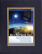 GoodOldSaying - Poem for Inspirations - What a Mighty God We Serve! . . . on 8x10 Biblical Verse set in Double Mat (Black On Gold) - A Priceless Poetry Keepsake Collection