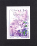GoodOldSaying - Poem for Inspirations - Women of God . . . on 8x10 Biblical Verse set in Double Mat (Black On White)- A Priceless Poetry Keepsake Collection
