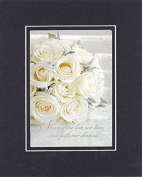 GoodOldSaying - Poem for Love & Marriage - Sharing our love . . .(Ephesians 5:31) . . . on 8x10 Biblical Verse set in Double Mat (Black On Black) - A Priceless Poetry Keepsake Collection