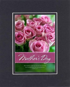 GoodOldSaying - Poem for Mothers - Call Her Blessed (Proverbs 31:28) . . . Poem on 8x10 Biblical Verse set in Double Bevelled Matting (Black On Black) - A Priceless Poetry Keepsake Collection