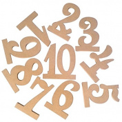 OULII Wedding Table Number Holders 1-10, 10pcs