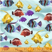 Windham Whistler Studios Aquatic Quilt Fabric Fat Quarter
