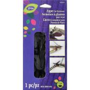 Loran Knitwear Zip Fastener 50cm -Black