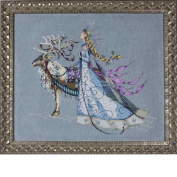 Snow Queen LINEN Kit Beaded Counted Cross Stitch by Nora Corbett Mirabilia Designs MD143 (Bundle