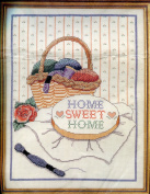 Banar Designs Counted Cross Stitch Kit Home Sweet Home