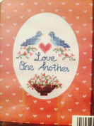 Love One Another 13cm x 18cm Cross Stitch Kit