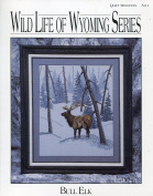 Wild Life of Wyoming Bull Elk Counted Cross Stitch Chart