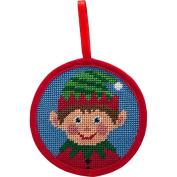Alice Peterson Stitch-Ups Boy Elf Needlepoint Ornament Kit