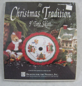 #1914 Christmas Tradition 23cm Train Tree Skirt