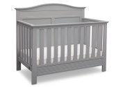 Serta Barrett 4-in-1 Convertible Crib, Grey