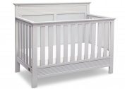 Serta Fall River 4-in-1 Convertible Crib, Bianca