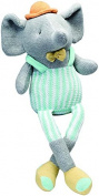 Elegant Baby Knittie Bittie Elephant Doll, 38cm