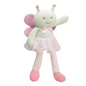 Elegant Baby Springtime Knittie Bittie Butterfly Doll, 38cm