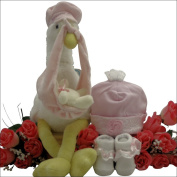 GreatArrivals Special Delivery Baby Girl Gift Set, Pink, 0-3 Months