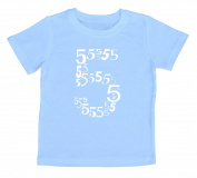 """I'm Five"" Fifth Birthday Child Shirt"