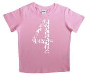 """""""I'm Four"""" Fourth Birthday Child Shirt"""