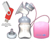 Best Electric Breast Pump Milk Suction For Baby Very Comfortable Portable Infant Feeding Tool - BY DK Products