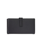 Scully Leather Tab Clutch Wallet
