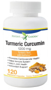 Turmeric Curcumin 1200mg with 95% Curcuminoids - Powerful Anti Inflammatory - 120 Capsules to Reduce Inflammation for Joint & Arthritis Pain Relief - Assists Weight Loss by Improving Digestion